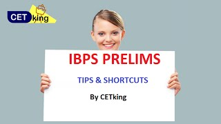IBPS 2016 tips prelims - Inc your score by 10 marks workshop