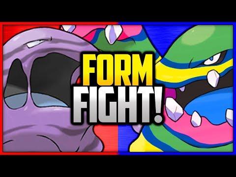 Muk: Kanto vs Alola | Pokémon Form Fight