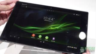Sony Xperia Tablet Z - First Look and Hands On