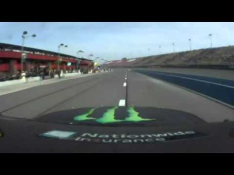 Kyle Busch Pissed Off at Fontana