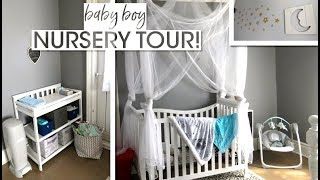 NURSERY TOUR! // Baby Boy