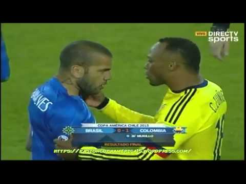 Brasil 0-1 Colombia (Rock & Gol) - Copa América 2015