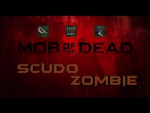 Come costruire lo scudo zombie - i pezzi e la resistenza - Mob Of the Dead Black Ops 2 - By White