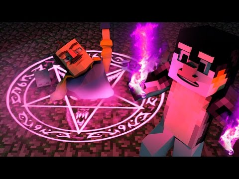 Minecraft |  Hello Neighbor - Secret Ritual to Summon the Neighbor! (Neighbor How To)