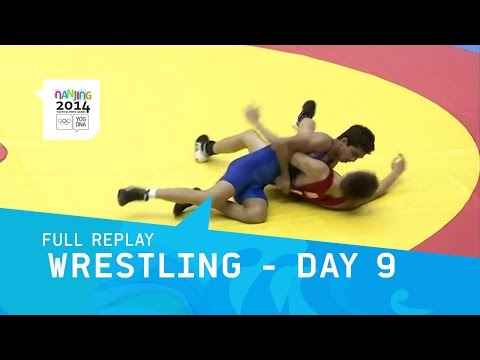 Wrestling - Day 9 Qualifications Greco-Roman | Full Replay| Nanjing 2014 Youth Olympic Games
