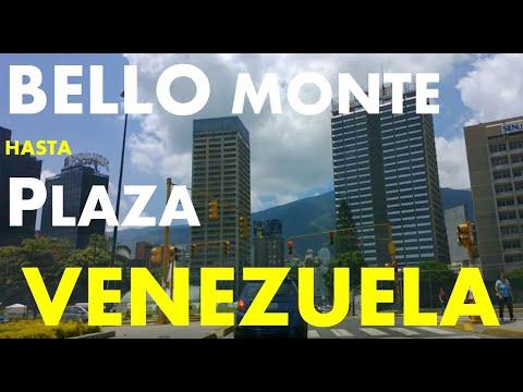 Caracas, Bello monte, plaza venezuela.