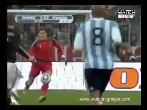 Germany vs Argentina (0-1) All Goals & Highlights [Friendly] - 03.03.10