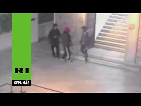 Atentado en Túnez: Publican el video de las cámaras de seguridad