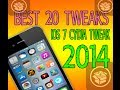 Best 20 [iOS 7 Compatible] Cydia Tweaks 2014 Evasi0n7 iPhone 5, 5S, iPad Mini