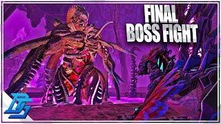 ROCKWELL FINAL BOSS FIGHT, TEK RAILGUN, TEK DRAKE SADDLE!- Ark Survival Evolved -Part 24- Aberration