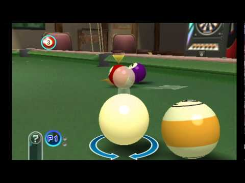 [Lets Watch] Pool Revolution Cue Sports Wiiware Gameplay HQ [Gameday2011]