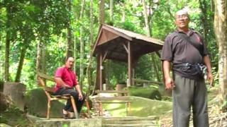 Training in Malaysian Jungle with Silat Masters