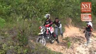 Ahirine learns to ride offroad: Part 5