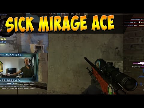 Thats How You Ace - CS:GO Awp Ace on Mirage