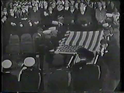 John F Kennedy Funeral Graveside Ceremonies Nov 25, 1963 video