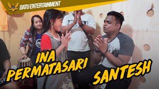 Santesh  Ina Permatasari Berlatih Untuk Rakaman Di Malaysia Bersama Datu Entertainment