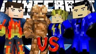 Minecraft | SUPERHERO ROYAL RUMBLE - Fantastic Four! w/ Aphmau