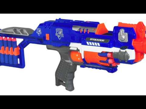 New Nerf N-Strike Elite Blaster Line Coming in 2013.  First Look At Toy Fair 2013 of New Blasters