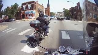 Royal Enfield Interceptor 650 test ride in Chicago part 2