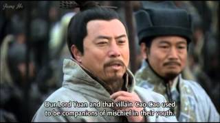 Cao Cao and Yuan Shao at Guandu