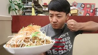 The MASSIVE Pad Thai Noodle Challenge!