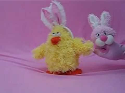 Dandee Easter Animated Chick Singing chicken Dance video