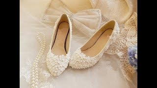 Vintage Style Wedding Shoes, Boots, Flats, Heels