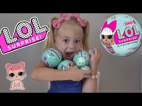 EVERLEIGH OPENS TONS OF L.O.L. SURPRISE DOLLS!!