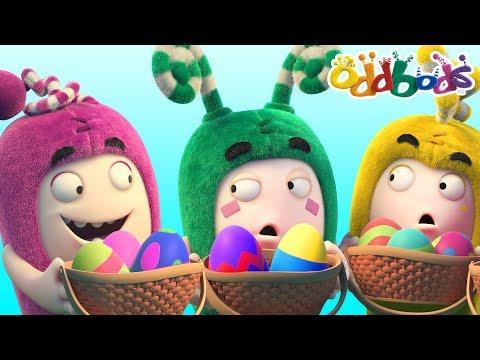 Easter Egg Hunt With Oddbods | New Episodes