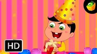 Happy Birthday - English Nursery Rhymes - Cartoon/Animated Rhymes For Kids