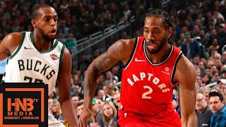 Toronto Raptors vs Milwaukee Bucks Full Game Highlights | 01/05/2019 NBA Season
