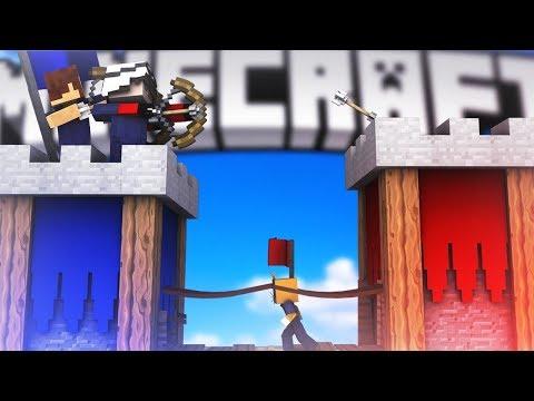НОВЫЙ КРУТОЙ РЕЖИМ = БИТВА ЗАМКОВ! МЫ С АИДОМ И ПОДПИСЧИКАМИ ОСАЖДАЕМ ЧУЖИЕ КРЕПОСТИ! Minecraft