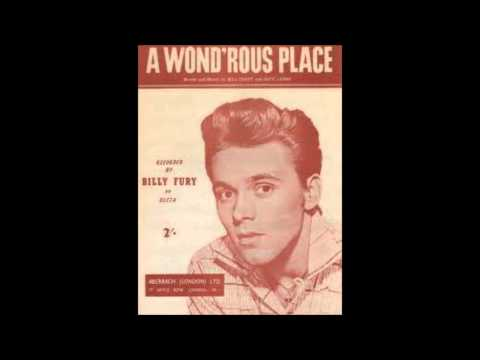 Billy Fury - ''wondrous Place'' video