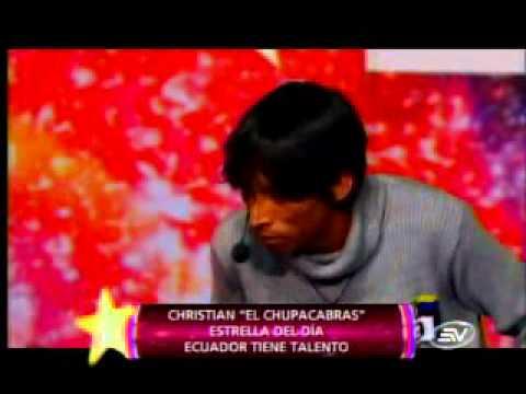 Ecuador tiene talento Christian el chupacabra by the denk3.flv