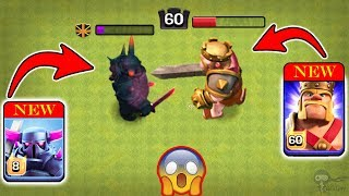 Max Level 8 PEKKA vs Max Level 60 Barbarian KING | Clash of Clans Ultimate Battle