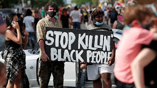 Protests erupt after death of unarmed black man in Minneapolis
