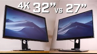 "Is A 32"" 4K Display Too Big for a Photographer? BenQ SW271 and SW320 4K Monitor Review"