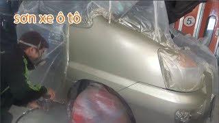 Sua chua o to tai CCC Auto| Sơn xe ô tô 🚘