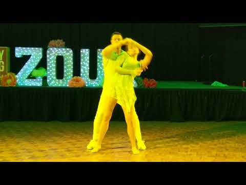 SSZF2018: Izzy & Steve in performance ~ Zouk Soul
