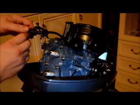консервация лодочного мотора yamaha