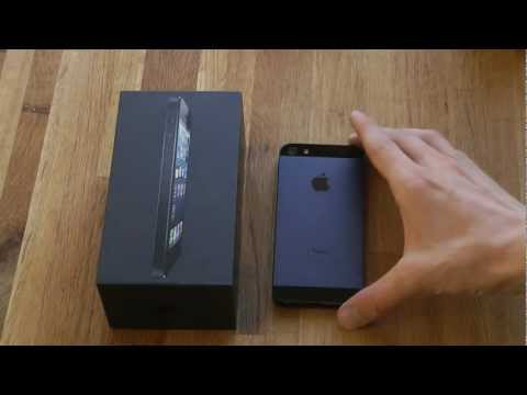 iPhone 5 - Unboxing