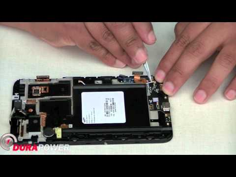 How to Replace Samsung Galaxy Note i717 Charge Port by DurapowerGlobal.com