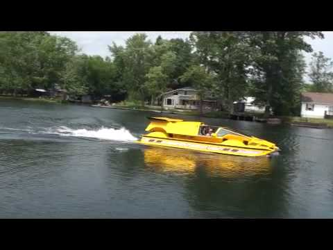 Dobbertin HydroCar - Water Test 2 - Amphibious Vehicle