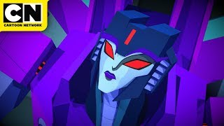 Transformers Cyberverse | The Great Escape | Cartoon Network