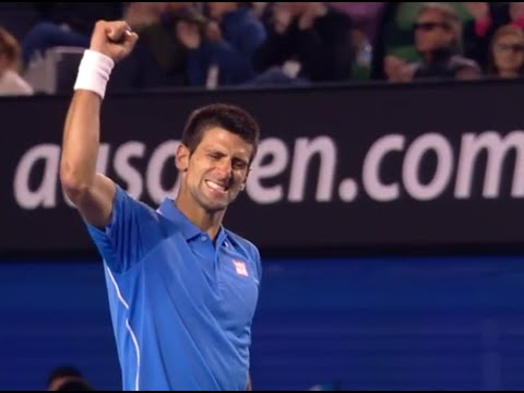 Hot shot: Djokovic amazing winner - Australian Open 2015