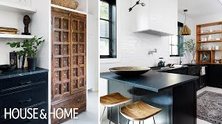This Edgy Kitchen Hadn't Been Renovated Since The '80s!