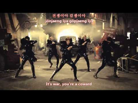 MBLAQ - This is war (전쟁이야) MV [eng subs + romanization + hangul]