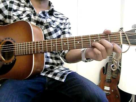 Bruno Mars - Count On Me Guitar Tutorial Lesson Videoke Cover By Rikard Music 2011 video