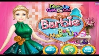 Barbie Real Makeover Makeup Online Game - Baby and Girl Games