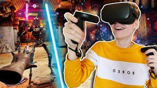 USING THE FORCE IN VIRTUAL REALITY | Star Wars: Vader Immortal -Episode 2 (Oculus Quest VR Gameplay)